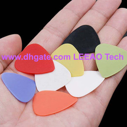 Lowest Price FREE FEDEX 5000pcs lot High Quality Plastic Guitar Pick Combo Stylish Colorful Guitar Picks Plectrums