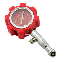 Wholesale New Red Tire Gauge Automatic Car High Precision Pressure Monitor