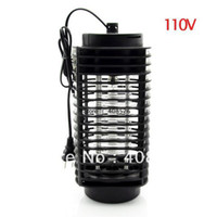 Wholesale New V Electric Mosquito Killer Lantern Fly Flying Insect Patio Bug Zapper Fly Catcher TK1054