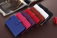 For Samsung Leather Red Wallet Credit Card Slot Litchi Skin Flip Leather Cover Case for Samsung Galaxy S5 i9600 Mobile Phone Cases Purse Pouch Holster Book Style