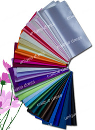 Wholesale 32 Piece Color Elastic Emulation Silk Fabric Swatches for Dresses