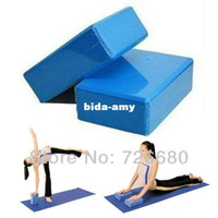 Wholesale Fitness Body Building Pilates Foam Foaming Brick Stretch Aid Exercise Gym Yoga Pillows Bricks Block