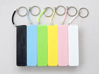 Wholesale 50pcs mAh USB External Backup Battery Power Bank for iPod Samsung HTC Emergency charger Micro usb cable retail box