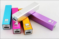 oem alkaline mah - 50pcs Mini Portable Power Bank for mobile phones and for Tablet PC mAh square columns