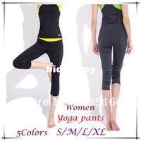 Wholesale New Design Women Yoga Pants S XL Colors Slim Foldover Colorful Capri For Fitness Dance Jogging Sport JM06779