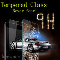 0.2MM mini tablet pc - Tempered Glass H MM Film Tablet PC Screen Protector Explosion proof for Ipad Air Air Mini Mini Mini With Retail Package DHL