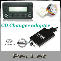 1 DIN Special In-Dash DVD Player 3.5 Inch car dvd 10pcs lot free fedex.Yatour for Nissan CD Changer adapter Bluetooth USB SD AUX MP3 audio media player wholesale