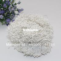 Wholesale mm Pearl White flower stamen pistil cake decoration craft DIY
