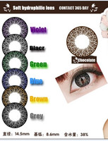 fashion contact lenses - Top quality contact Mixed Color Fashion rose pupil l contact lenses colored contact lenses authentic beauty pupil agent
