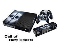 XBOX ONE   INBOX Protective Vinyl Skin Decal Cover for Microsoft Xbox One with Console Sticker Skins-Call Of Duty Ghosts Game