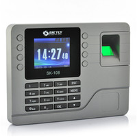 Wholesale 2 Inch Color Screen Fingerprint Time Attendance System Capacity Record