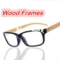 Wholesale NEW wood frames Men Women s Myopia Eyeglasses flat glasses prescription eyewear
