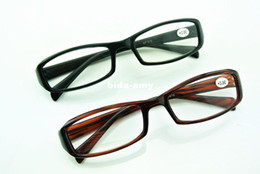 Wholesale New Arrive Elders Reading Glasses Black Tea Presbyopic with case cleaning cloth screwdriver