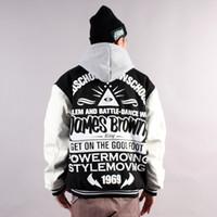 Jackets Men Cotton New Arrival Street Hip Hop Bboy Hip Hop Hip-hop Leather Dacer Baseball Uniform Jacket Outerwear Winter Autumn Skate