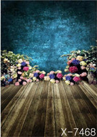 Wholesale 150cm height with cm width Flowers floor room backgrounds for photo studio