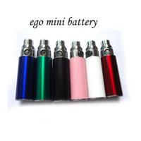 Electronic Cigarette Battery  ego mini battery 2014 newest style with 350 mah ego series ego t ego vv ego c twist ce4 vivi nova mt3 t2 dct atomizer DHL Free shiping