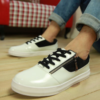 Men Pumps Wedge Shoes men shoes authentic 2013 winter new Korean wave skateboard shoes men's casual shoes to help low shoes