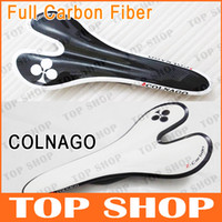 Bike Saddles Lightweight Full Carbon Fiber COLNAGO 3K MTB Ro...