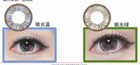 Wholesale Top Sale contact lenses Aurora genuine color contact lenseslenses make your eyes more beautifu l Trustworthy products