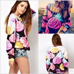 Wholesale Sample Order Hot Selling Autumn Winter New Style Women s Fashion Long Hoodies Fleece Hip Hop D Rose Sweatshirts L540