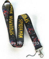 Wholesale Spiderman The Fashion phone lanyard ID card holder Lanyard