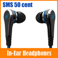 Wholesale Fashion Mini SMS Audio Street by Cent Wired In Ear Headphones Earphone Cell Phone Headphone Headset For Apple iPhone iPad iPod MP3