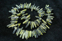 Wholesale Yellow Turquoise Nugget Beads Icicle Pillar Shape Stone Beads High Quality DIY Jewelry loose beads fit Necklace and Bracelet Making