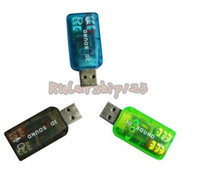 Wholesale USB D SOUND CARD USB to D AUDIO SOUND CARD ADAPTER VIRTUAL ch