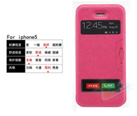 For Apple iPhone Leather White Cell Phone Cases PU Leather Cover Case Wallet Case Cover For iphone 5 5s 5G IPHONE5 DHL Free Shipping