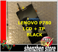 Wholesale New original LCD Display and Touch Screen Digitizer Assembly tp For LENOVO P780