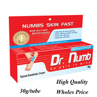 Wholesale Wholes Price g DR Numb Anaesthetic Cream For Tattoo Gun Needle Ink Cups Grips Kits by TNT