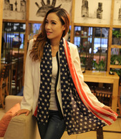 Wholesale 2014 of the latest Pentagram chiffon scarves Summer shawl scarf European and American fashion style