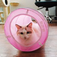 Wholesale Funny Pet Supplies Popular Cat Toys Long Spiral Dacron Cat Tunnel Easy Foldable Cylindric Compact Small and Easy to Carry Best Cat Supplies