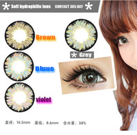 Wholesale High Quality Aki Mirador authentic color contact lenses Top Sale contact lenses make your eyes more beautiful High Quality Euro Style