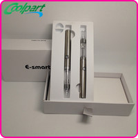 Wholesale E smart Kit Electronic Cigarettes kits mah Battery e cigarette Elegant Featuring revolutionary tank system Various Colors DHL Free