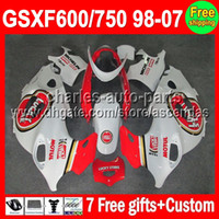 Lucky Strike 7gifts For SUZUKI KATANA GSXF600 750 98- 07 GSXF...
