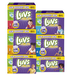 Wholesale Luvs Ultra Leakguards Diapers Size