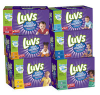 Wholesale Luvs Super Absorbent Disposable Diapers Jumbo PacK size