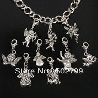 Wholesale Tibetan Angel Fairy Lobster claw clasp Charms TS7006