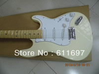 6 Strings malmsteen - 2014 new arrival free shiping guitar factory FD custom yngwie malmsteen creamy electric guitar scalloped neck with no logo