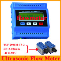 Wholesale TUF M TS Ultrasonic Flow Meter Flowmeter DN15 mm