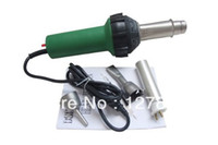 13.8m³/h Yes 1500w Hot Air Torch Plastic Welding Gun Welder Pistol 1500w+ Speed Nozzle +Roller Some PVC Or PE Gift Free Shipping