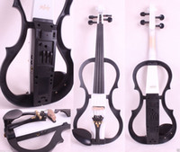Wholesale New Electric Violin Solid wood Powerful Sound Big jack Small jack Master