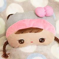 Wholesale is not water proof plug in dual plug models cartoon Hand Po hot water bottle warmer heating pads