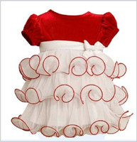 Wholesale Small Baby Clothing Princess Baby s Girl Christening Dreses Full Month Dresses Toddler Dresses Infant Wear GX18