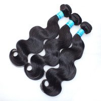 Wholesale 10pcs DHL Unprocessed A human virgin peruvian hair body wave top grade cheap peruvian virgin hair