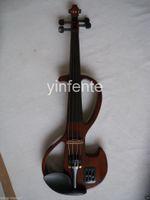 Wholesale New Electric Violin Solid wood Powerful Sound Big jack Mp3 back Soundon