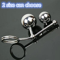 Wholesale BDSM Cock Ring Stainless Steel Butt Plug Urethral Sounds Strap On Penis Leather Bondage Harness Anal Hook Chastity Cage Belt Sex toy Fetish