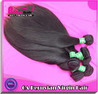 Wholesale Queen hair products straight grade A unprocessed virgin peruvian hair weave pc peruvian virgin hair