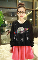 Wholesale EAST KNITTING CH New women Harajuku sweatshirt galaxy Alienware pullovers